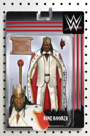 WWE #20 (Riches Action Figure Cover)