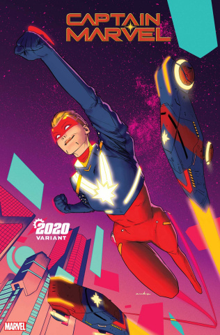 Captain Marvel #13 (Anka 2020 Cover)