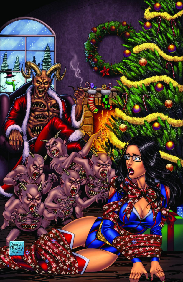 Grimm Fairy Tales 2013 Holiday Special (Reyes Cover)