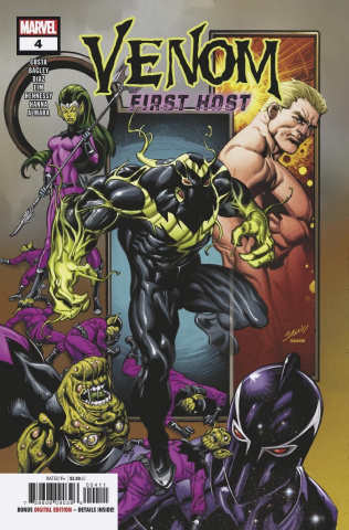 Venom: First Host #4