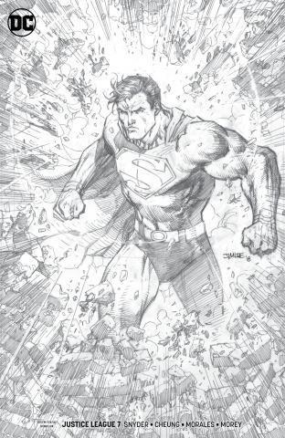 Justice League #7 (Jim Lee Pencil Cover)