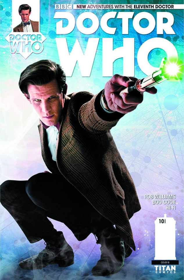 Doctor Who: New Adventures with the Eleventh Doctor #10 (Subscription Photo Cover)