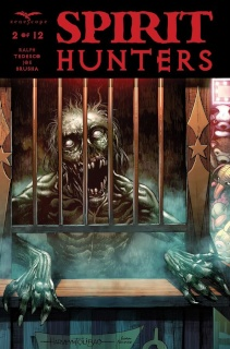 Spirit Hunters #2 (Tolibao Cover)
