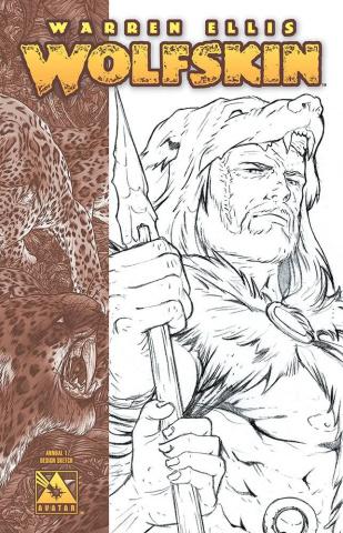 Wolfskin Annual #1 (Design Sketch Cover)