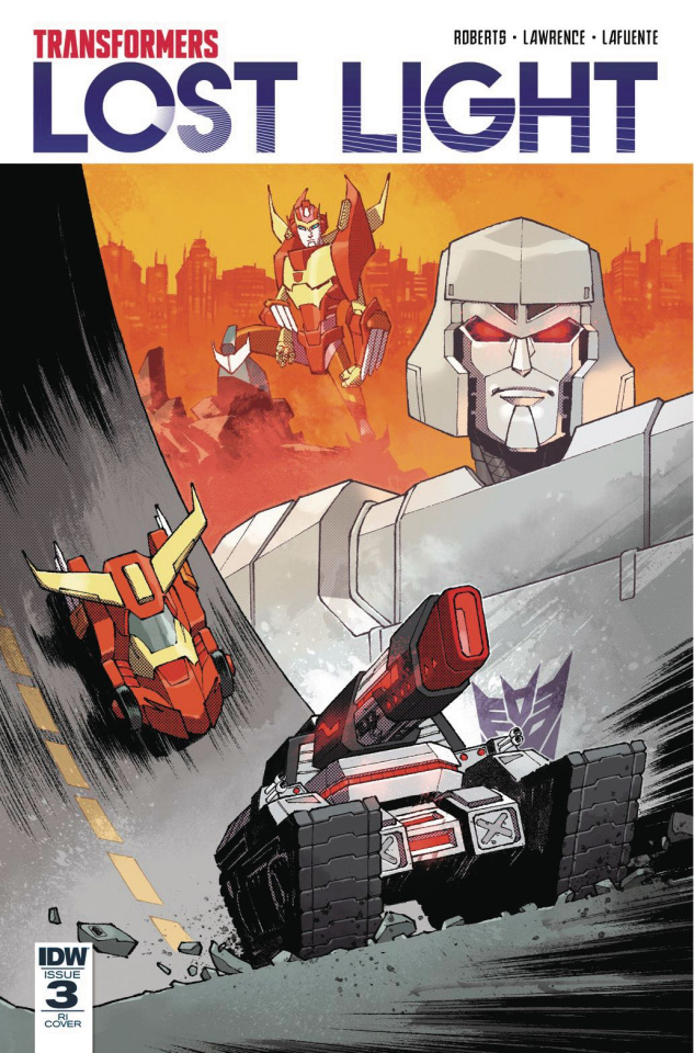 The Transformers: Lost Light #3 (10 Copy Cover)
