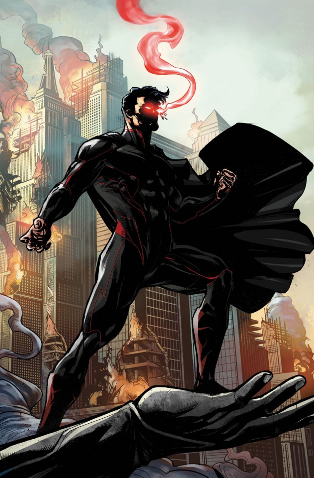 E.V.I.L. Heroes #1 (Cuffari Cover)