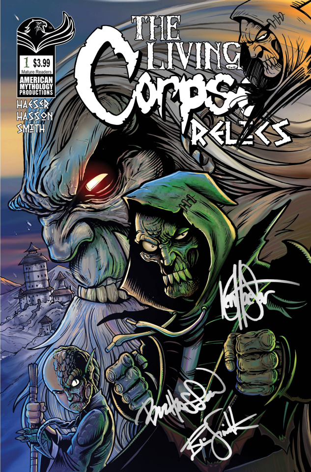The Living Corpse: Relics #1 (Remarqued Signed Edition)