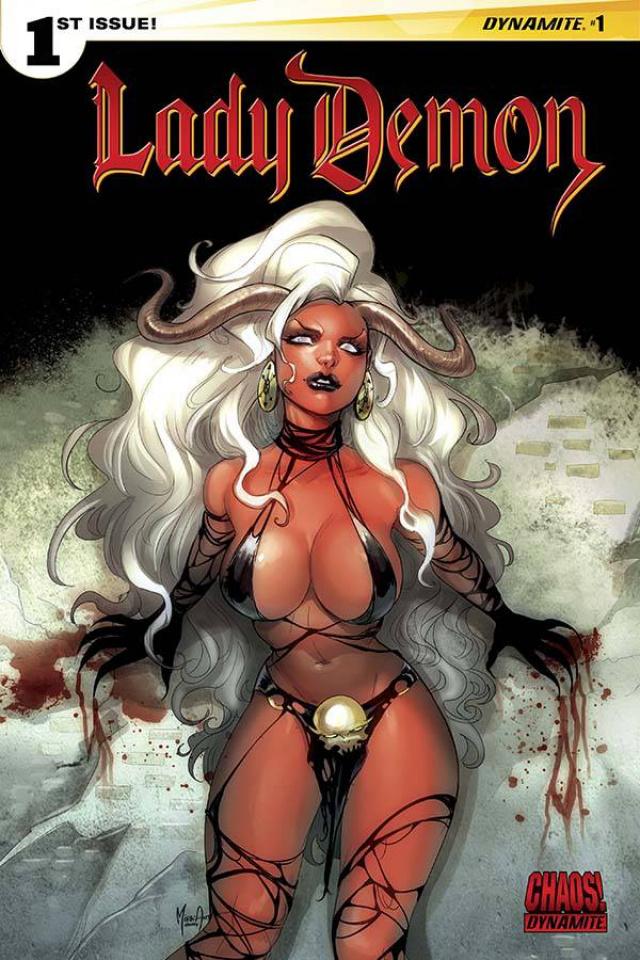 Lady Demon #1 (Andolfo Cover)