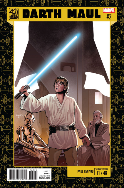 Star Wars: Darth Maul #2 (Renaud Star Wars 40th Anniversary Cover)