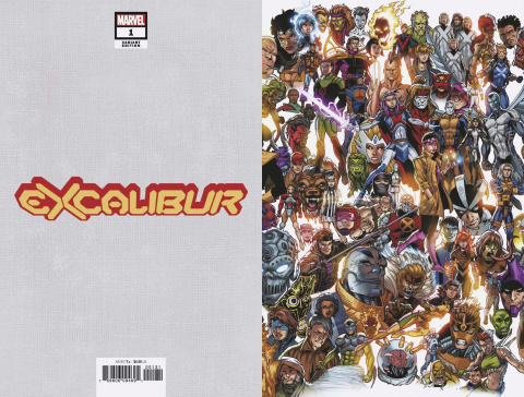 Excalibur #1 (Bagley Every Mutant Ever Cover)