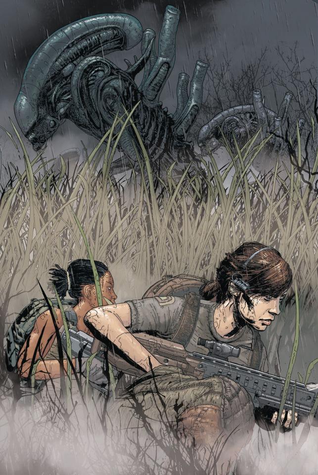 Aliens: Resistance #3 (Jones Cover)