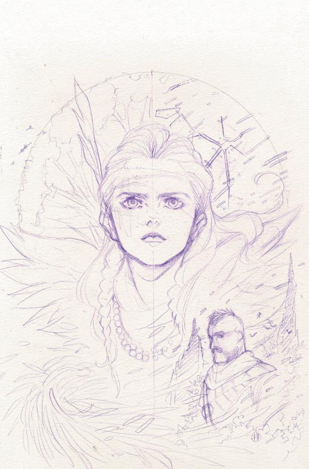 Horizon: Zero Dawn - Liberation #1 (Momoko Virgin Sketch Cover)