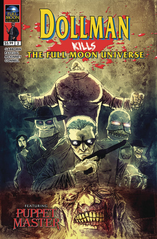 Dollman Kills the Full Moon Universe #2 (Templesmith Cover)