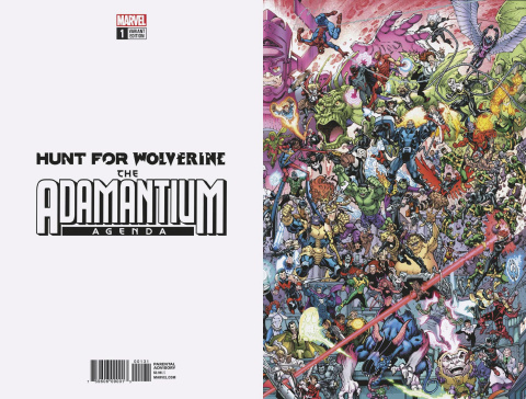 Hunt for Wolverine: The Adamantium Agenda #1 (Where's Wolverine Cover)
