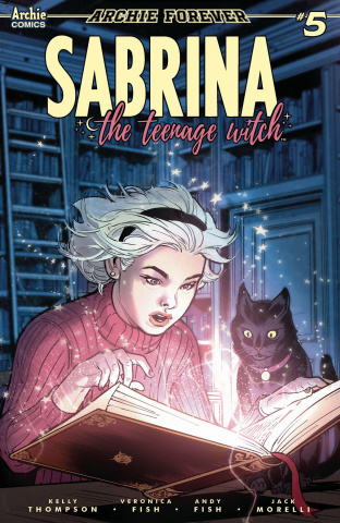 Sabrina, The Teenage Witch #5 (Ibanez Cover)
