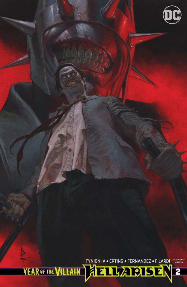 Year of the Villain: Hell Arisen #2 (Variant Cover)