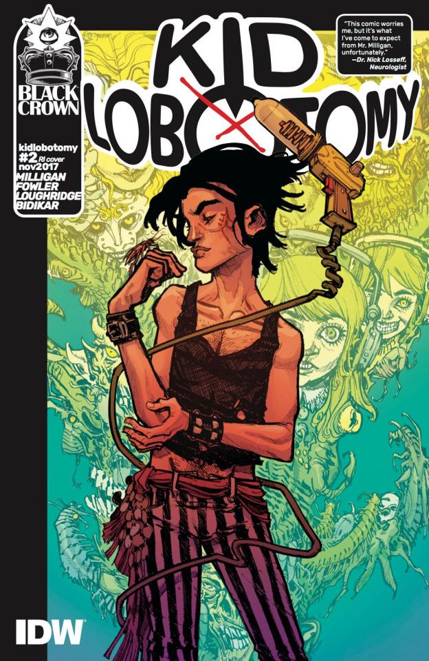 Kid Lobotomy #2 (10 Copy Cover)