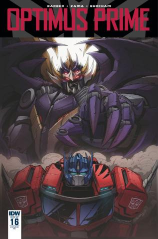 Optimus Prime #16 (10 Copy Cover)