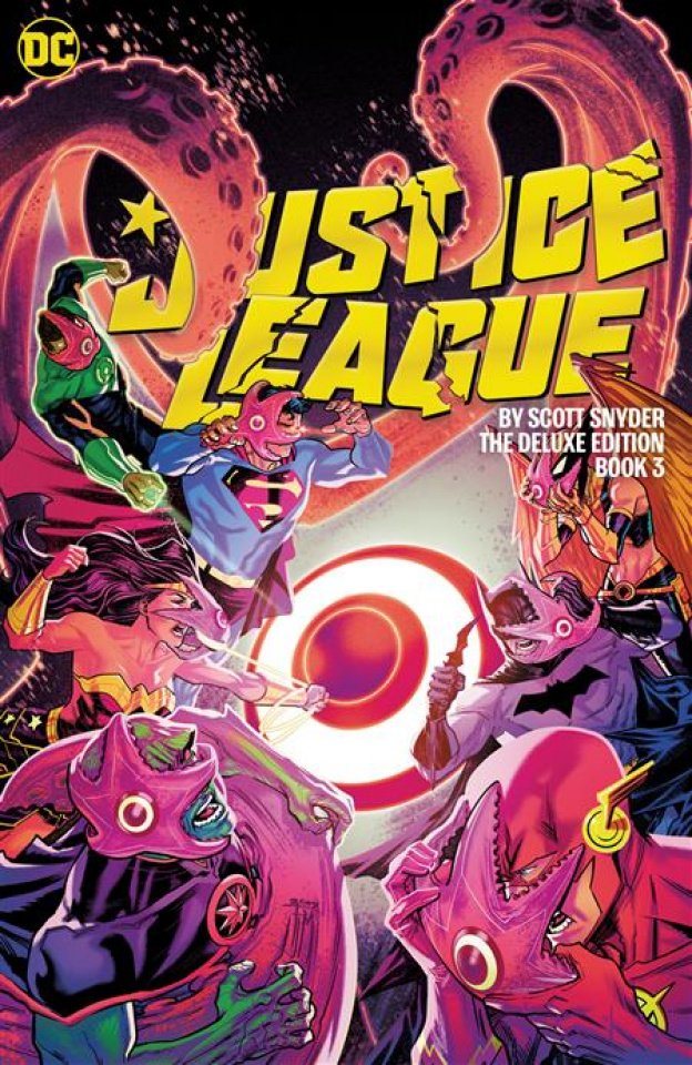 Justice League by Scott Snyder Book 3 (Deluxe Edition)