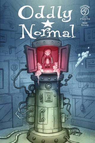 Oddly Normal #9 (Frampton Cover)