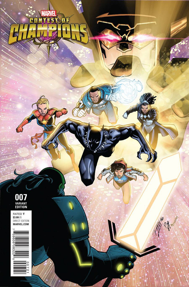 Contest of Champions #7 (Lim Cover)