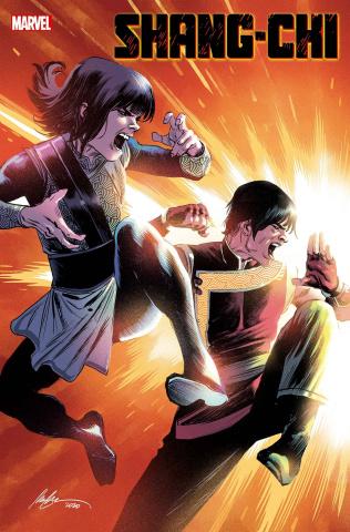 Shang-Chi #4 (Albuquerque Cover)