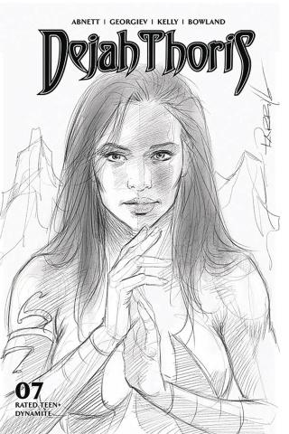 Dejah Thoris #7 (10 Copy Parrillo B&W Cover)