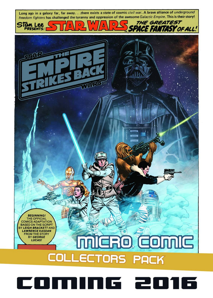 The Empire Strikes Back Micro Comic Collectors Pack