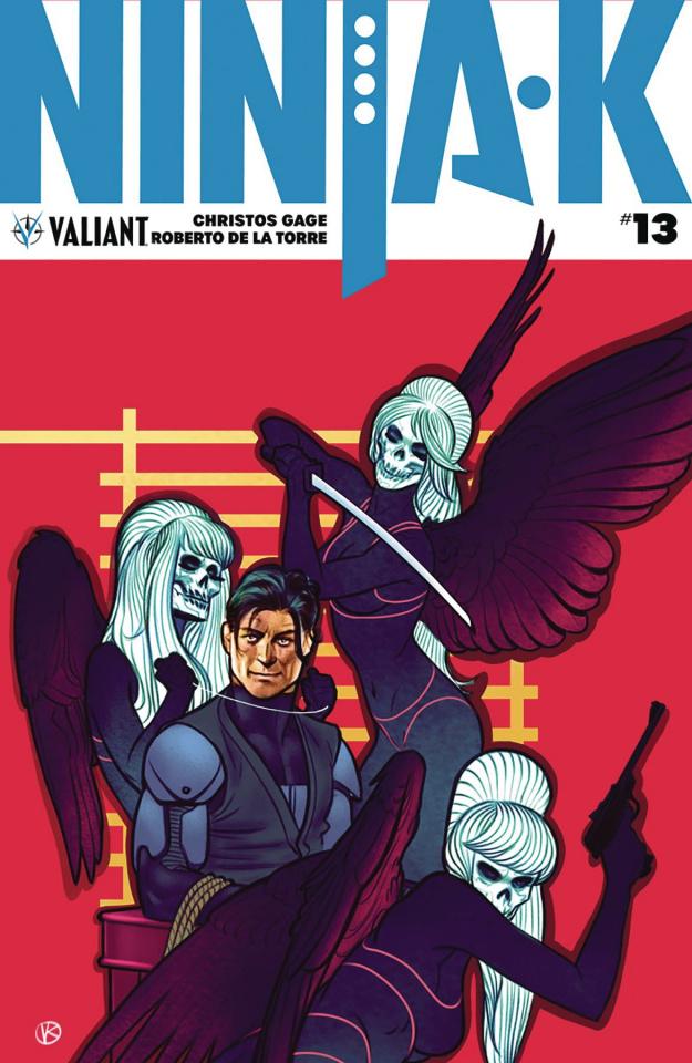 Ninja-K #13 (Kalvachev Cover)