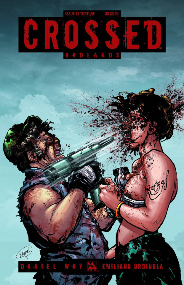 Crossed: Badlands #45 (Torture Cover)