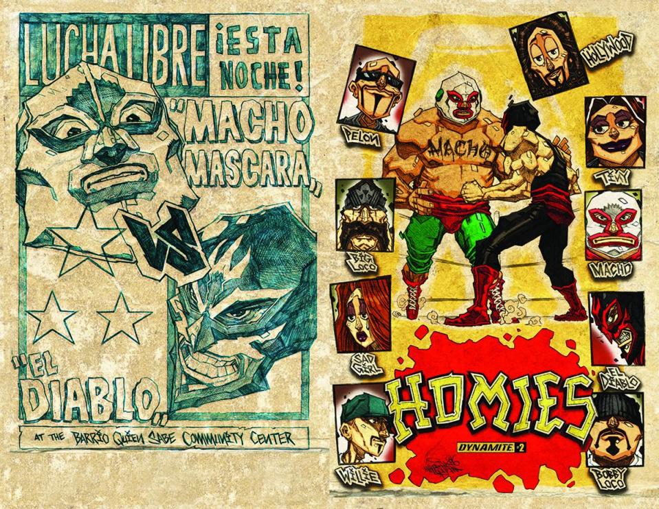 Homies #2 (Huerta Cover)