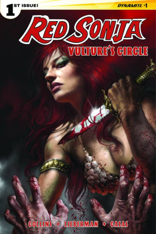 Red Sonja: Vulture's Circle #1 (Subscription Cover)