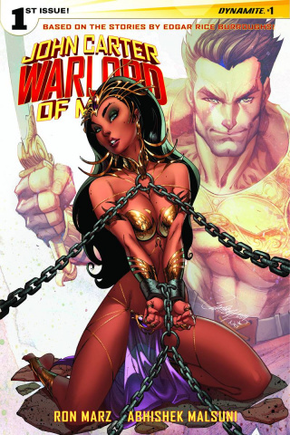 John Carter: Warlord of Mars #1 (Campbell Cover)