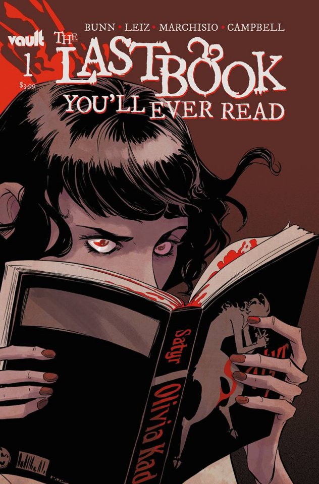 The Last Book You'll Ever Read #1 (Hickman Cover)