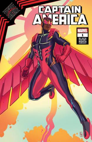 King in Black: Captain America #1 (Black History Month Cover)