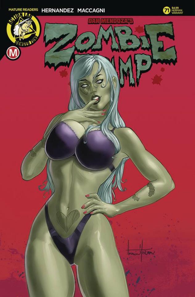 Zombie Tramp #71 (Herman Cover)