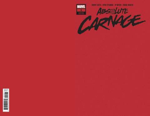 Absolute Carnage #1 (Red Cover)