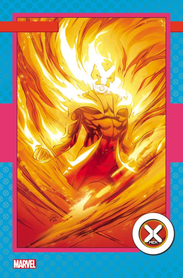 X-Men #4 (Dauterman Trading Card Cover)