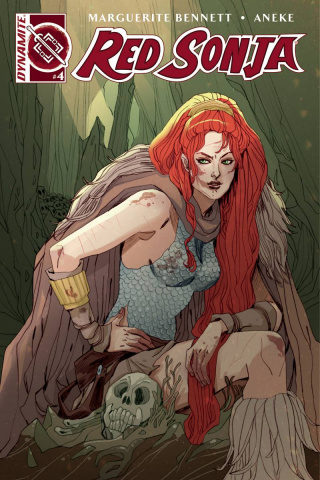 Red Sonja #4 (Sauvage Cover)
