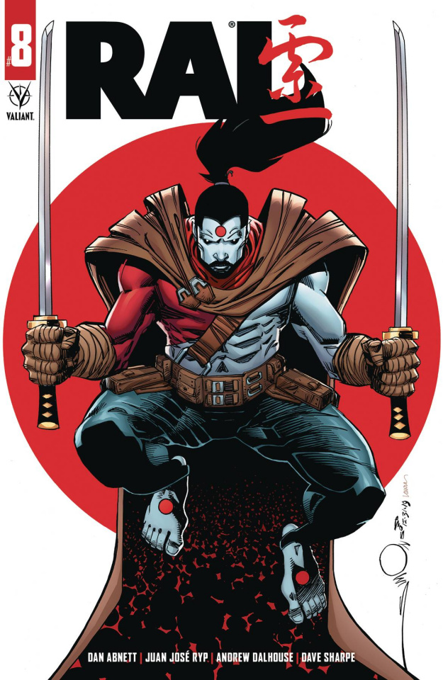 Rai #8 (Simonson Cover)