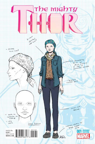 The Mighty Thor #1 (Dauterman Design Cover)