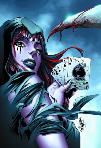 Grimm Fairy Tales: Wonderland - Through the Looking Glass #4 (Lilly Cover)