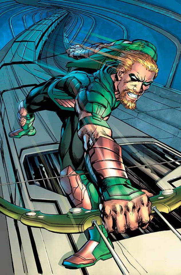 Green Arrow #10 (Variant Cover)