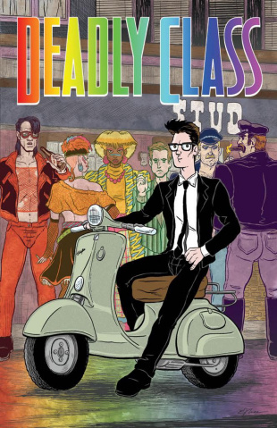 Deadly Class #29 (Pride Month Cover)