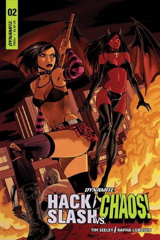 Hack/Slash vs. Chaos! #2 (Celor Cover)