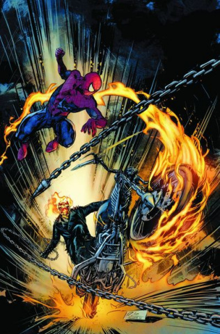 Amazing Spider-Man: Ghost Rider Motorstorm #1