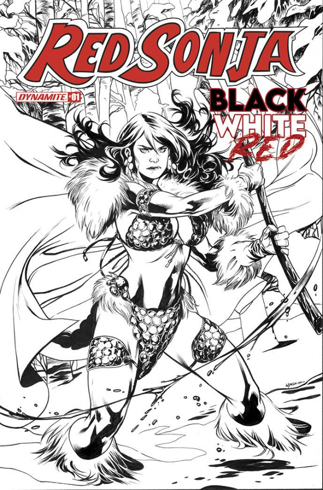 Red Sonja: Black, White, Red #1 (40 Copy Lupacchino Cover)