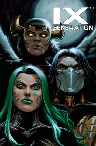 IXth Generation #6 (Rojo Cover)