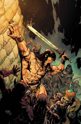 The Savage Sword of Conan #5 (Asrar Cover)