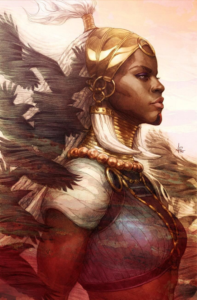 Black Panther #1 (Artgerm Virgin Cover)